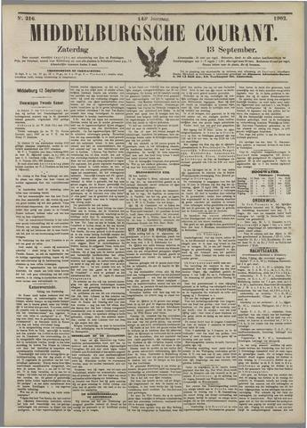 Middelburgsche Courant 1902-09-13