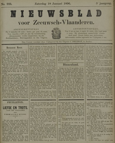 Nieuwsblad voor Zeeuwsch-Vlaanderen 1896-01-18