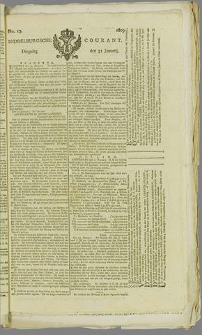 Middelburgsche Courant 1809-01-31