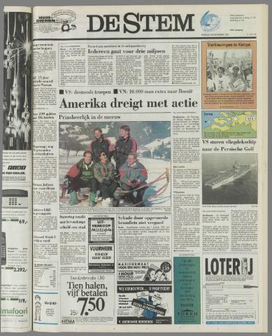 de Stem 1992-12-29
