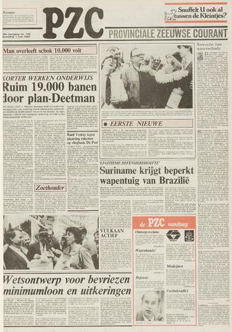 Provinciale Zeeuwse Courant 1983-06-01
