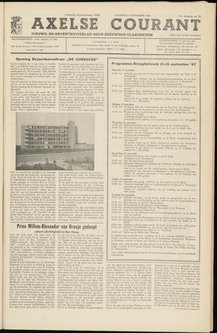 Axelsche Courant 1967-09-09