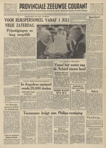 Provinciale Zeeuwse Courant 1961-05-19