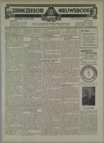 Zierikzeesche Nieuwsbode 1940-07-08