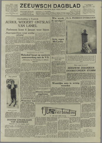 Zeeuwsch Dagblad 1954