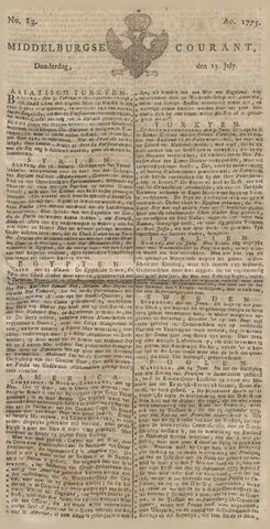 Middelburgsche Courant 1775-07-13