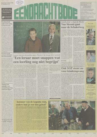 Eendrachtbode (1945-heden)/Mededeelingenblad voor het eiland Tholen (1944/45) 2004-10-14