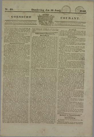 Goessche Courant 1842-06-16