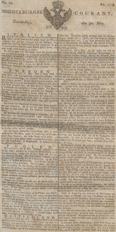 Middelburgsche Courant 1776-05-30