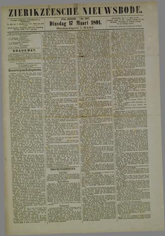 Zierikzeesche Nieuwsbode 1891-03-17