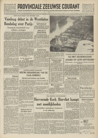 Provinciale Zeeuwse Courant 1954-12-15