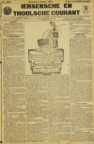 Ierseksche en Thoolsche Courant 1923-01-06