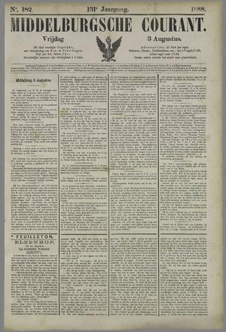Middelburgsche Courant 1888-08-03