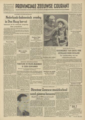 Provinciale Zeeuwse Courant 1954-08-05