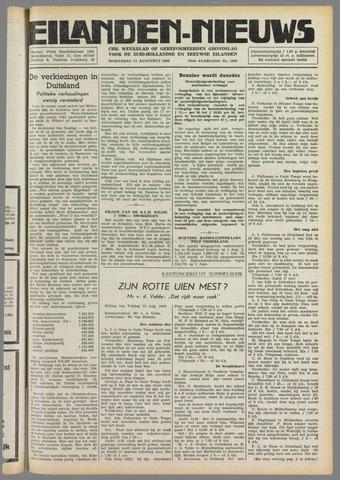 Eilanden-nieuws. Christelijk streekblad op gereformeerde grondslag 1949-08-17