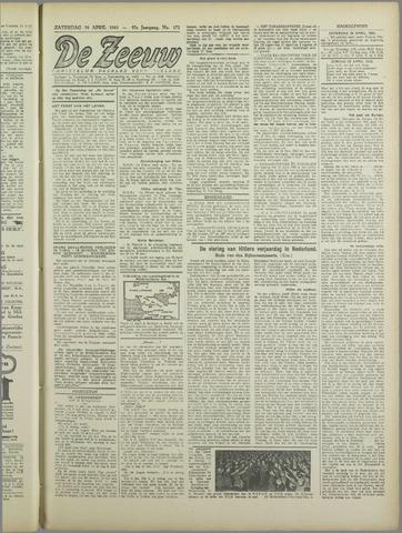 De Zeeuw. Christelijk-historisch nieuwsblad voor Zeeland 1943-04-24