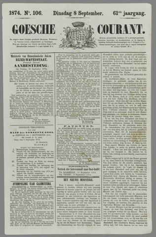 Goessche Courant 1874-09-08