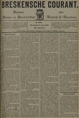 Breskensche Courant 1913-04-09