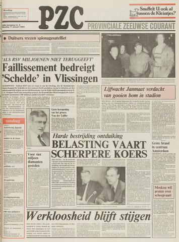 Provinciale Zeeuwse Courant 1983-01-11