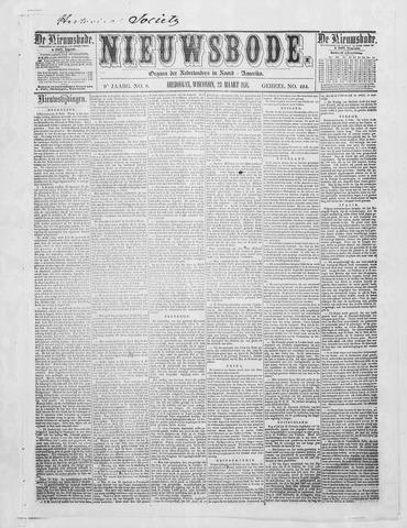 Sheboygan Nieuwsbode 1858-03-23