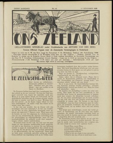 Ons Zeeland / Zeeuwsche editie 1928-11-17