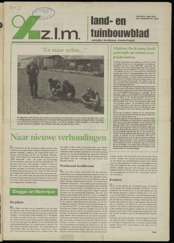 Zeeuwsch landbouwblad ... ZLM land- en tuinbouwblad 1982-05-21
