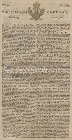 Middelburgsche Courant 1775-01-12