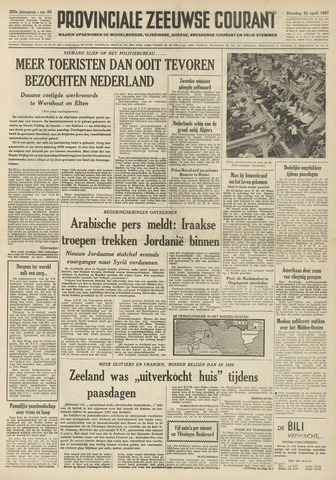 Provinciale Zeeuwse Courant 1957-04-23