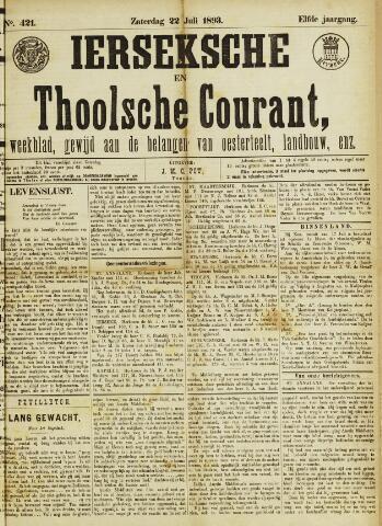 Ierseksche en Thoolsche Courant 1893-07-22