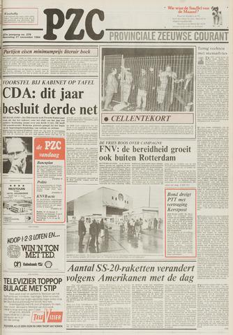 Provinciale Zeeuwse Courant 1984-11-21