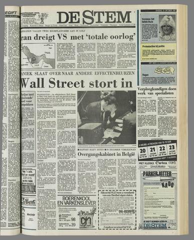 de Stem 1987-10-20