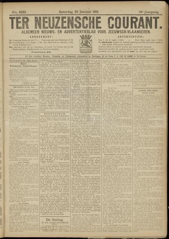 Ter Neuzensche Courant. Algemeen Nieuws- en Advertentieblad voor Zeeuwsch-Vlaanderen / Neuzensche Courant ... (idem) / (Algemeen) nieuws en advertentieblad voor Zeeuwsch-Vlaanderen 1916-01-29