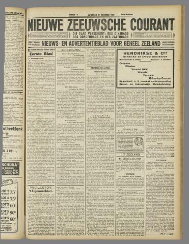 Nieuwe Zeeuwsche Courant 1926-11-27
