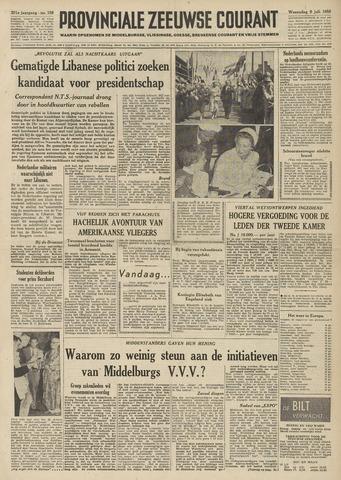 Provinciale Zeeuwse Courant 1958-07-09