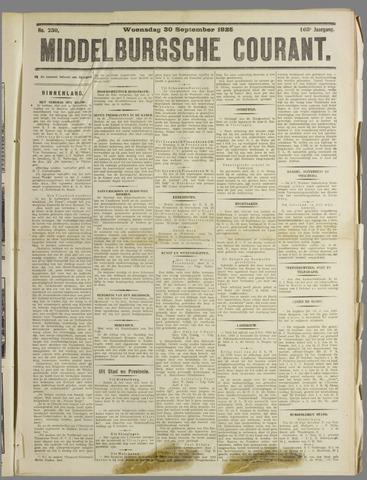 Middelburgsche Courant 1925-09-30