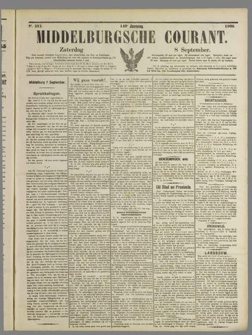 Middelburgsche Courant 1906-09-08