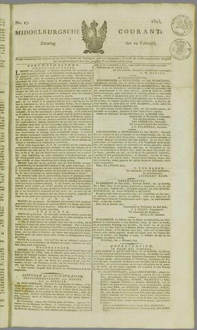 Middelburgsche Courant 1825-02-12
