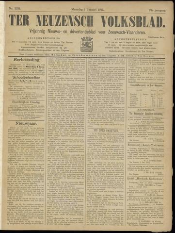 Ter Neuzensch Volksblad. Vrijzinnig nieuws- en advertentieblad voor Zeeuwsch- Vlaanderen / Zeeuwsch Nieuwsblad. Nieuws- en advertentieblad voor Zeeland 1912-01-01