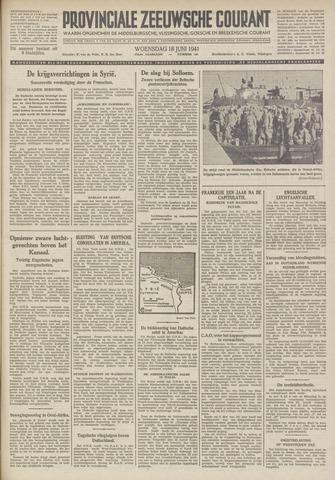Provinciale Zeeuwse Courant 1941-06-18