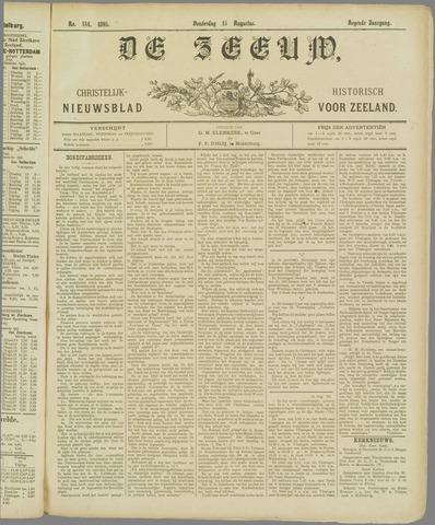De Zeeuw. Christelijk-historisch nieuwsblad voor Zeeland 1895-08-15