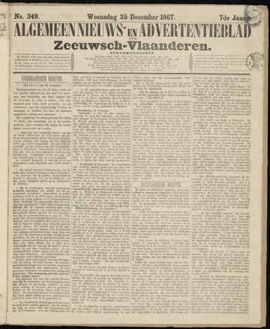 Ter Neuzensche Courant. Algemeen Nieuws- en Advertentieblad voor Zeeuwsch-Vlaanderen / Neuzensche Courant ... (idem) / (Algemeen) nieuws en advertentieblad voor Zeeuwsch-Vlaanderen 1867-12-25