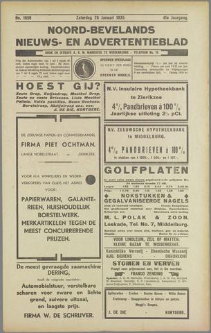 Noord-Bevelands Nieuws- en advertentieblad 1935-01-26