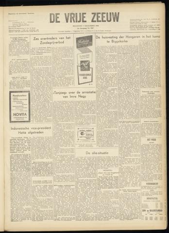 de Vrije Zeeuw 1956-12-03