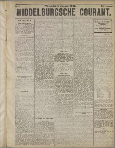 Middelburgsche Courant 1922-01-11