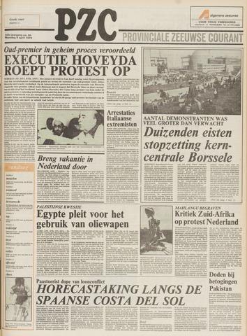 Provinciale Zeeuwse Courant 1979-04-09