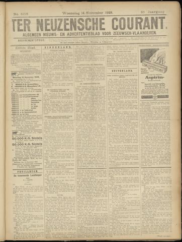 Ter Neuzensche Courant. Algemeen Nieuws- en Advertentieblad voor Zeeuwsch-Vlaanderen / Neuzensche Courant ... (idem) / (Algemeen) nieuws en advertentieblad voor Zeeuwsch-Vlaanderen 1928-11-14