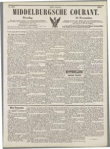 Middelburgsche Courant 1901-11-19