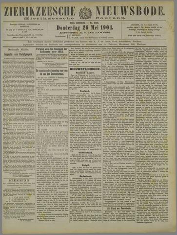 Zierikzeesche Nieuwsbode 1904-05-26