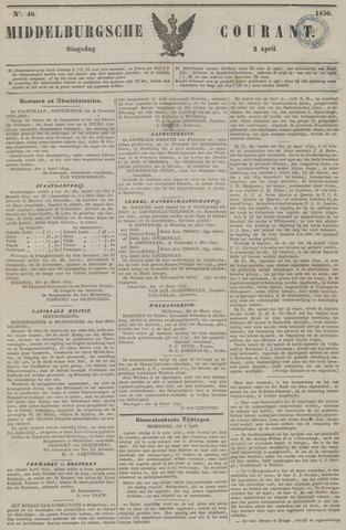 Middelburgsche Courant 1850-04-02