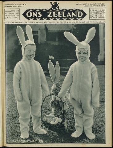 Ons Zeeland / Zeeuwsche editie 1932-03-25